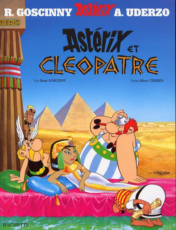 Astérix T6 : Astérix et Cléopâtre (0), bd chez Albert René de Goscinny, Uderzo