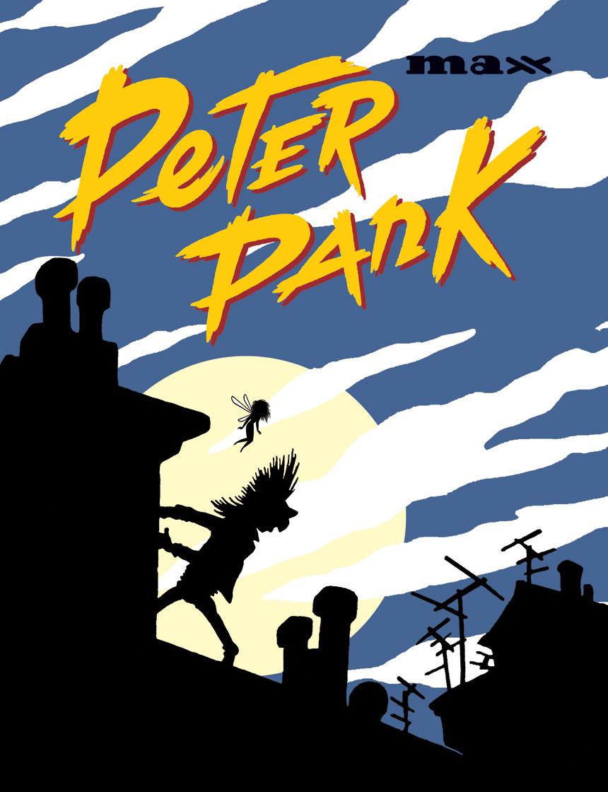 Peter Pank, bd chez Rackham de