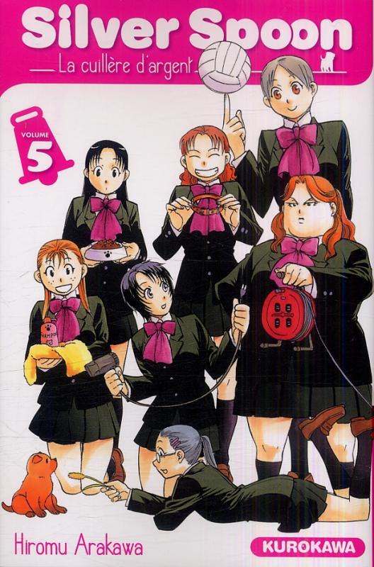 Silver spoon T5, manga chez Kurokawa de Arakawa