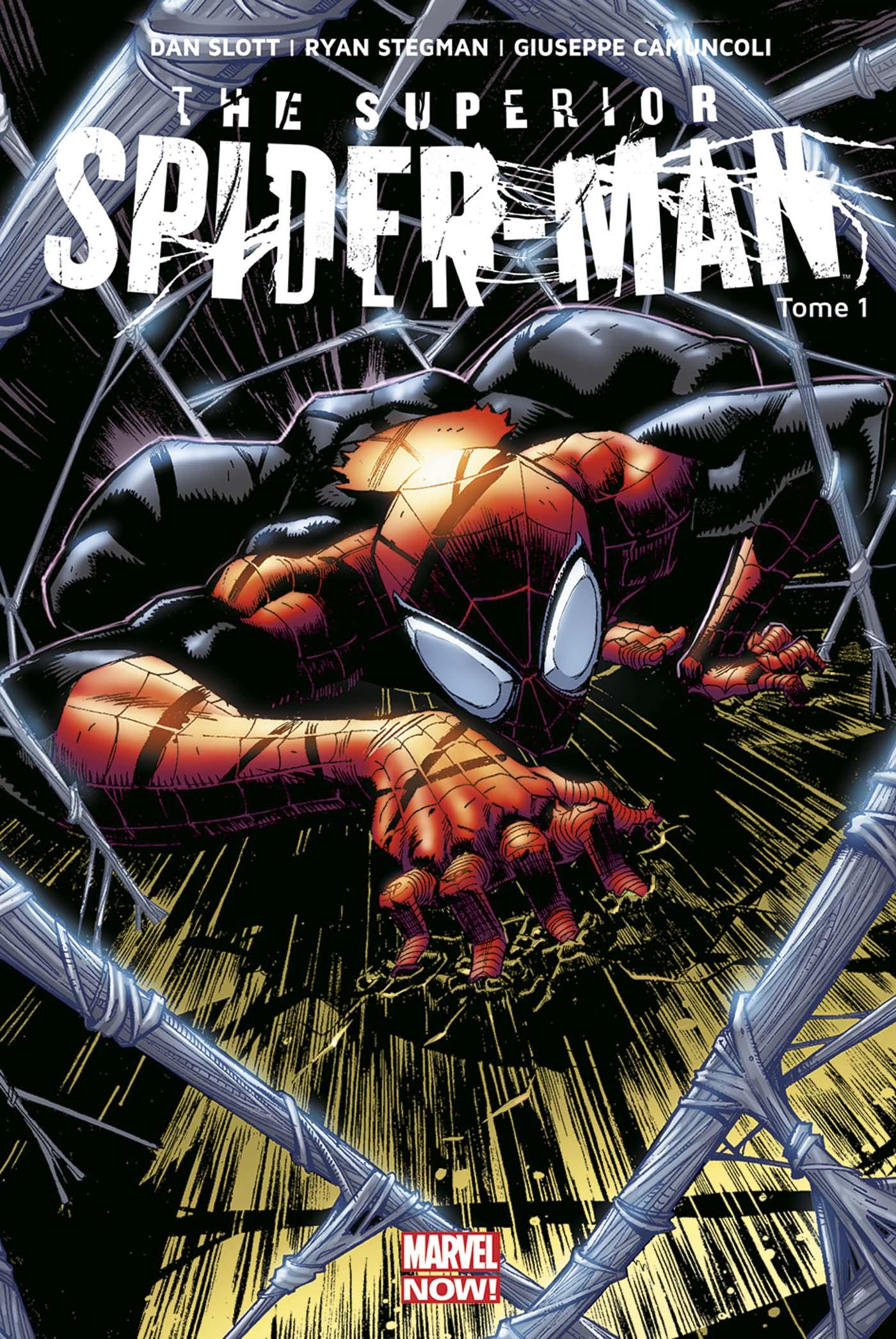 Superior Spider-Man T1 : Mon premier ennemi (0), comics chez Panini Comics de Slott, Camuncoli, Stegman, Fabela, Delgado
