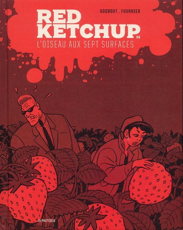 Red Ketchup T6 : L'oiseau aux sept surfaces (0), bd chez La pastèque de Fournier, Godbout