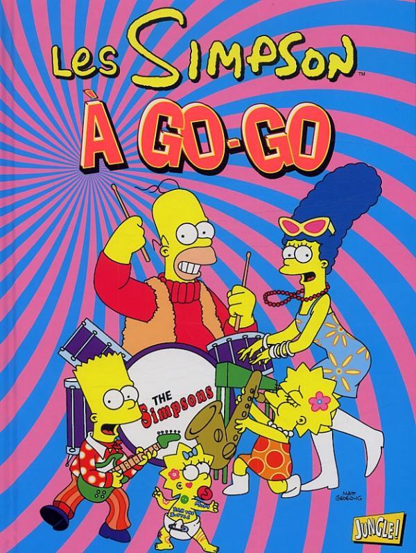 Les Simpson T23 : A go-go (0), comics chez Jungle de Groening, Collectif, Morrison