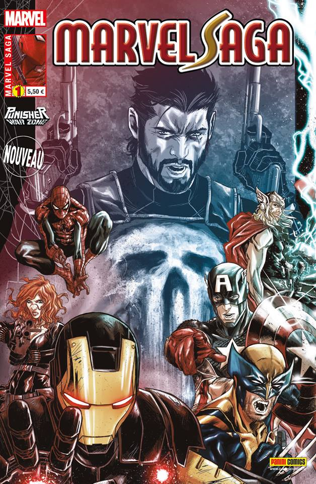 Marvel Saga – V 2, T1 : Face-à-face - Punisher Warzone (0), comics chez Panini Comics de Rucka, Di Giandomenico, Hollingsworth, Checchetto
