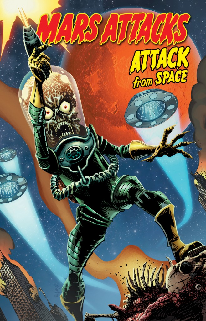 Mars Attacks : Attack from space (0), comics chez French Eyes de Layman, McCrea, Elder