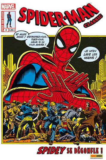 Spider-Man Classic T8 : Spidey se dégonfle ! (0), comics chez Panini Comics de Romita Sr, Conway, Reinman, Starlin, Kane, Mortellaro, G, Hunt