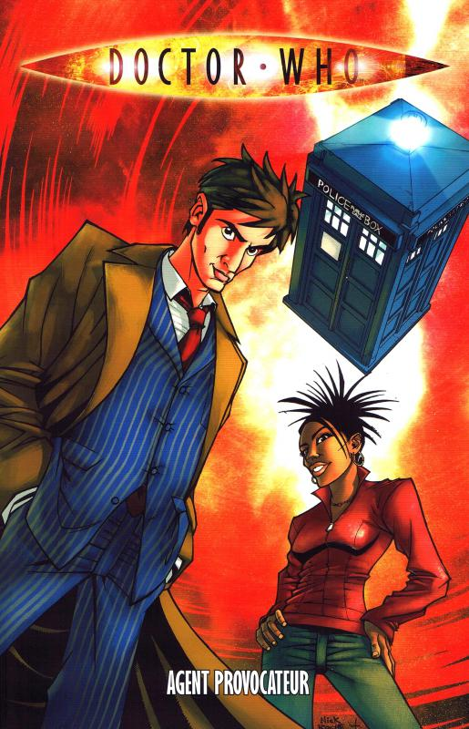 Doctor Who T1 : Agent provocateur (0), comics chez French Eyes de Russell, Pierfederici, Roche, Berdy, Martino, Kirchoff, Smith