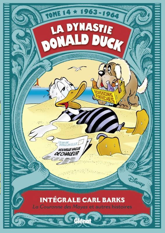 La Dynastie Donald Duck T14 : Le Trésor des Mayas et autres histoires (0), comics chez Glénat de Barks