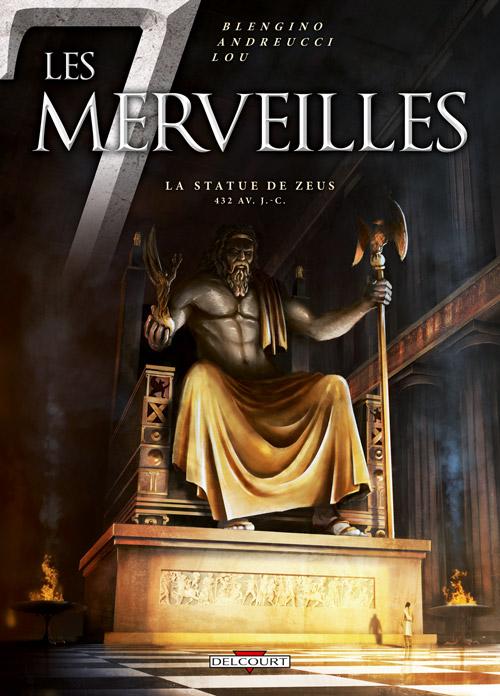 Les 7 merveilles T1 : La statue de Zeus (0), bd chez Delcourt de Blengino, Andreucci, Lou, Rebuffat