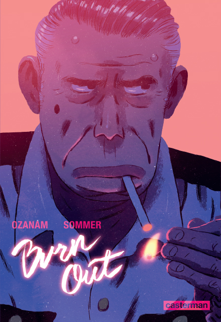 Burn out, bd chez Casterman de Ozanam, Sommer