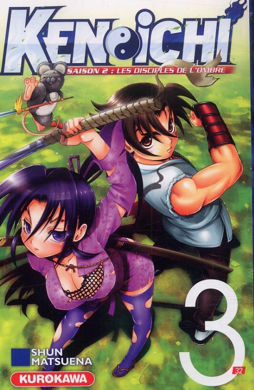 Ken-Ichi – Les disciples de l'ombre 2, T3, manga chez Kurokawa de Matsuena