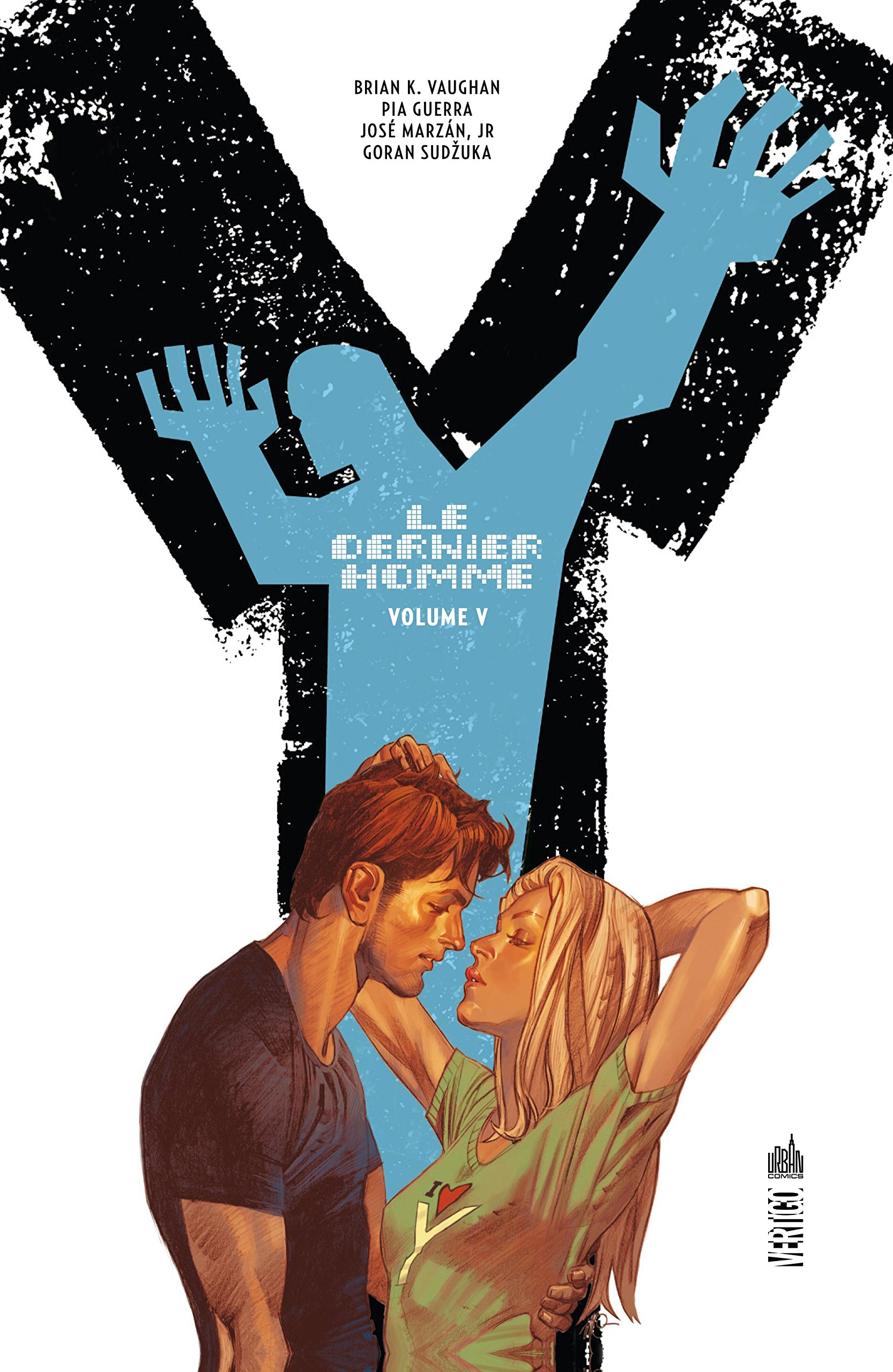 Y, Le Dernier Homme T5, comics chez Urban Comics de Vaughan, Sudzuka, Guerra, Marzan jr, Zylonol, Carnevale