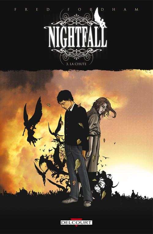 Nightfall T3 : La chute (0), comics chez Delcourt de Fordham