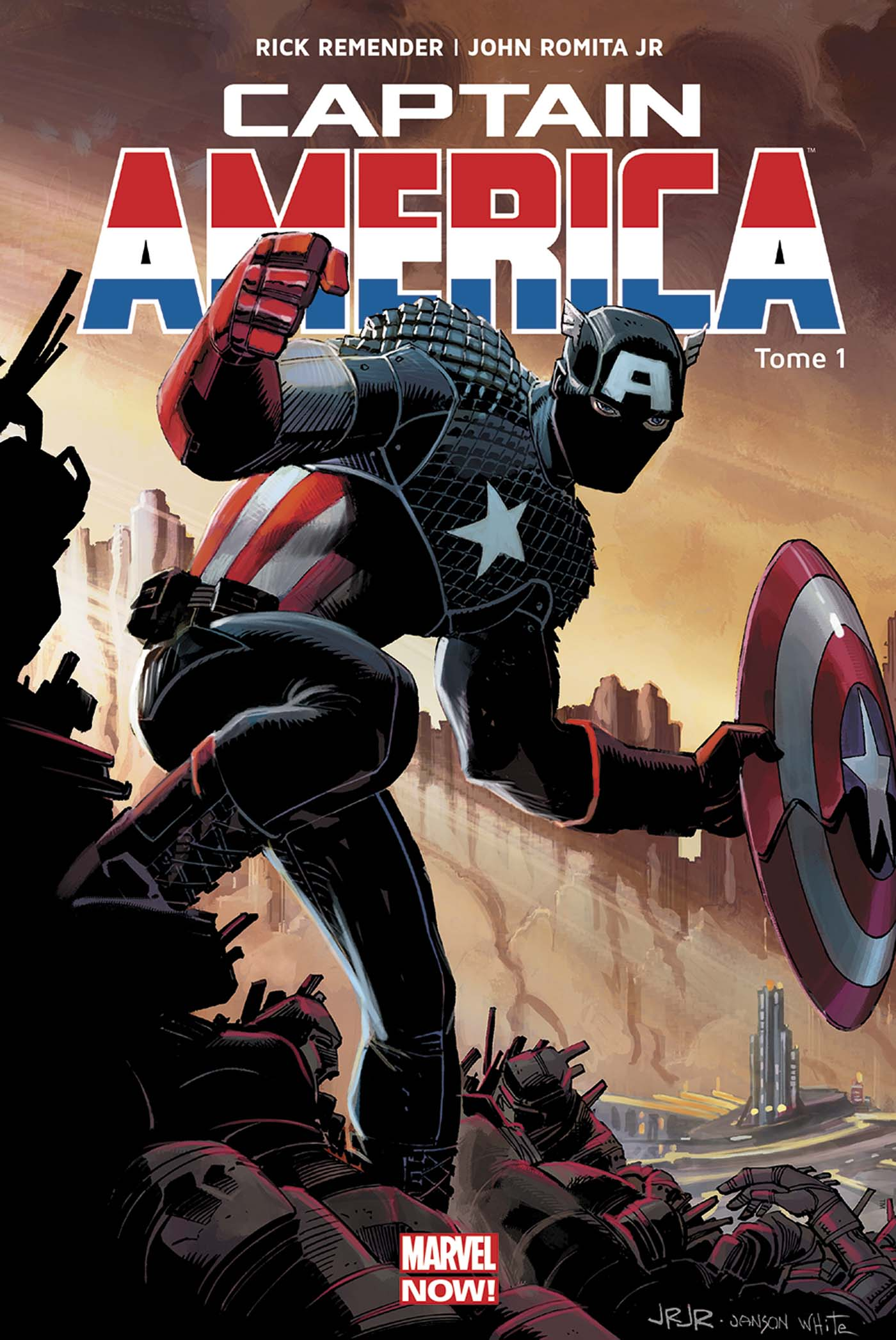 Captain America (vol.7) – Marvel Now, T1 : Perdu dans la dimension Z - 1ère partie (0), comics chez Panini Comics de Remender, Romita Jr, Janson, White