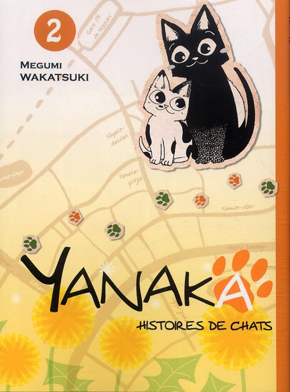 Yanaka - histoires de chats T2, manga chez Komikku éditions de Wakatsuki