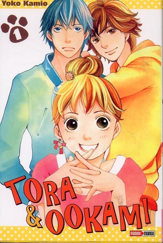 Tora & Ookami  T1, manga chez Panini Comics de Kamio