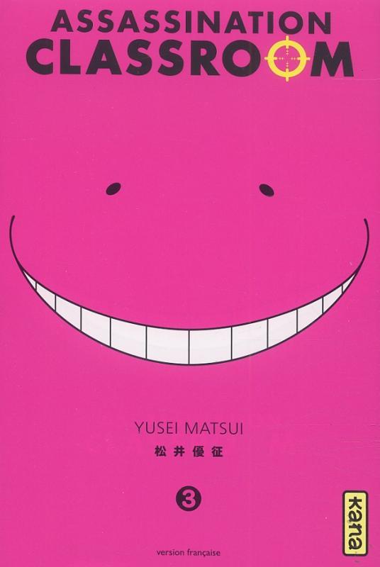 Assassination classroom T3, manga chez Kana de Yusei