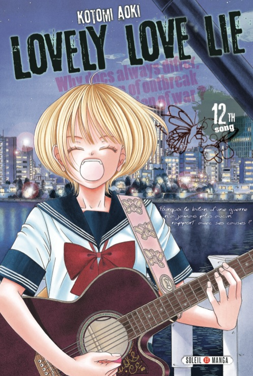 Lovely love lie T12, manga chez Soleil de Aoki