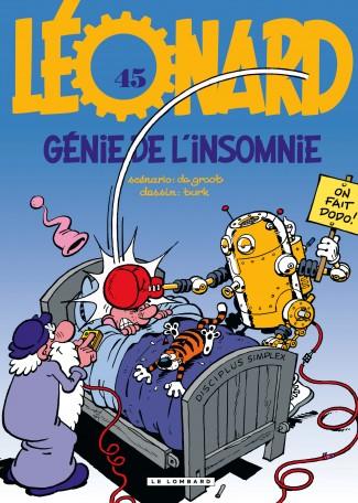 Léonard T45 : Génie de l'insomnie (0), bd chez Le Lombard de Turk, de Groot