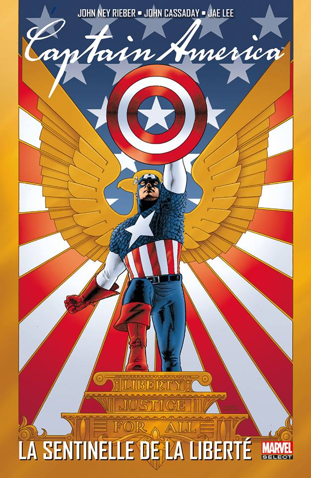 Captain America - La sentinelle de la liberté, comics chez Panini Comics de Austen, Reiber, Martin, Dini, Hairsine, Ross, Cassaday, Stewart, Vicente, Villarubia