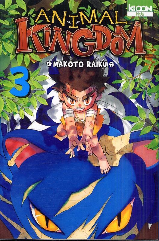 Animal kingdom T3, manga chez Ki-oon de Raiku
