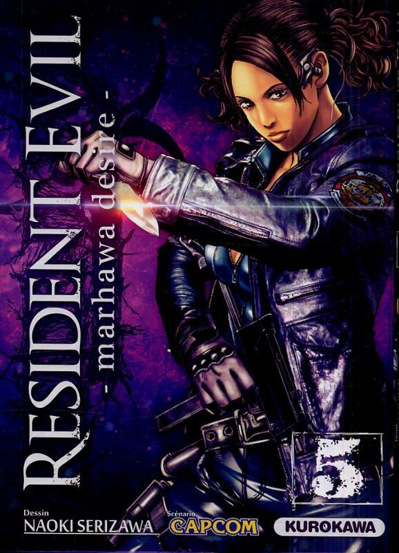 Resident evil - marhawa desire T5, manga chez Kurokawa de Capcom , Serizawa