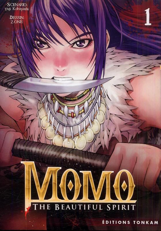 Momo - the beautiful spirit T1, manga chez Tonkam de Okina, Z-One