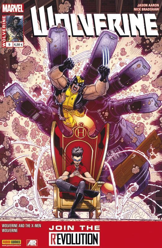 Wolverine (revue) – Revue V 4, T9 : Vulnérable (0), comics chez Panini Comics de Cornell, Aaron, Wong, Davis, Bradshaw, Farmer, Hollingsworth, Milla
