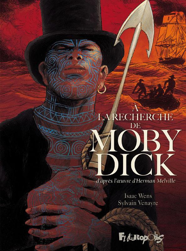 A la recherche de Moby Dick, bd chez Futuropolis de Venayre, Wens