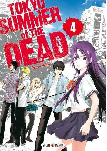 Tokyo summer of the dead T4, manga chez Soleil de Kugura