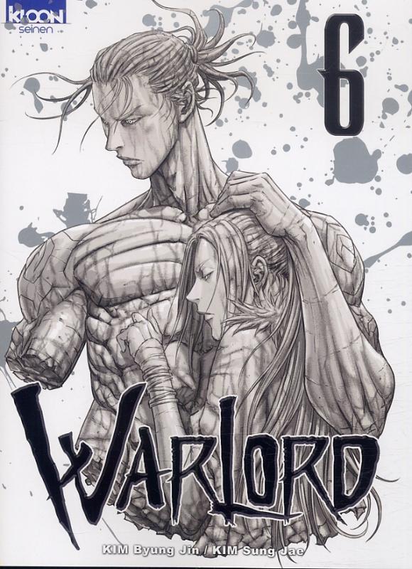 Warlord T6, manga chez Ki-oon de Song Jae-Kim, Kim