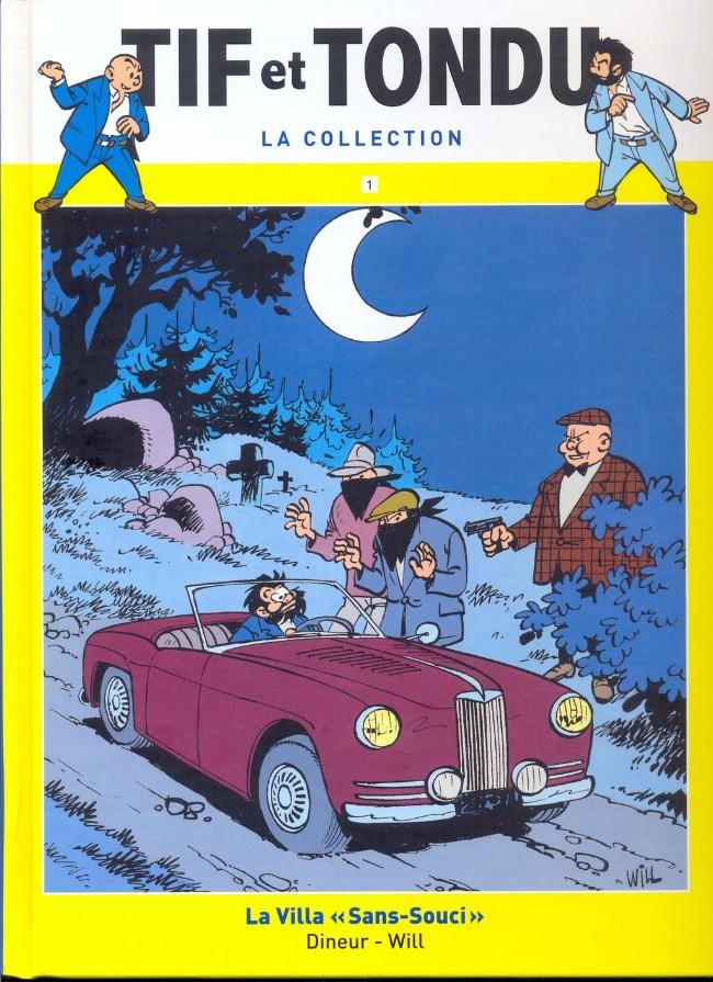 Tif et Tondu T1 : La villa sans-souci (0), bd chez Hachette de Dineur, Will