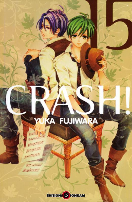 Crash !! T15, manga chez Tonkam de Fujiwara