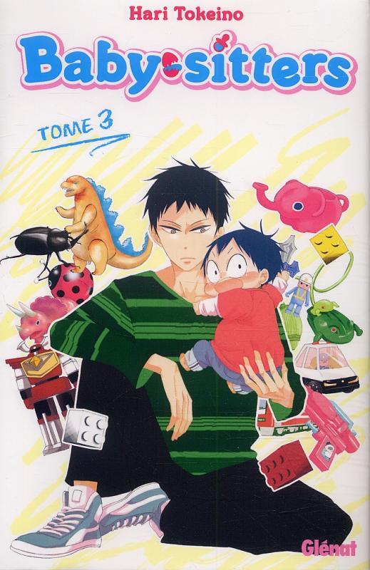 Baby sitters T3, manga chez Glénat de Tokeino