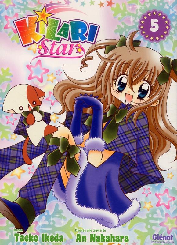 Kilari star T5, manga chez Glénat de Ikeda, Nakahara
