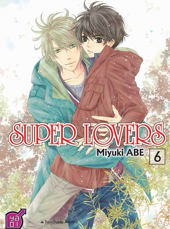 Super lovers T6, manga chez Taïfu comics de Abe