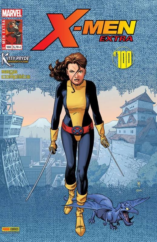 X-Men (revue) – Extra, T100 : Kitty Pride - L'ombre et la flamme (0), comics chez Panini Comics de Yoshida, Smith, Walker