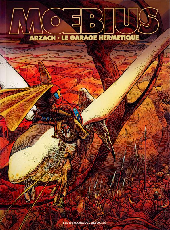 Arzach - Le garage hermétique : Editions anniversaire 80 ans (0), bd chez Les Humanoïdes Associés de Moebius