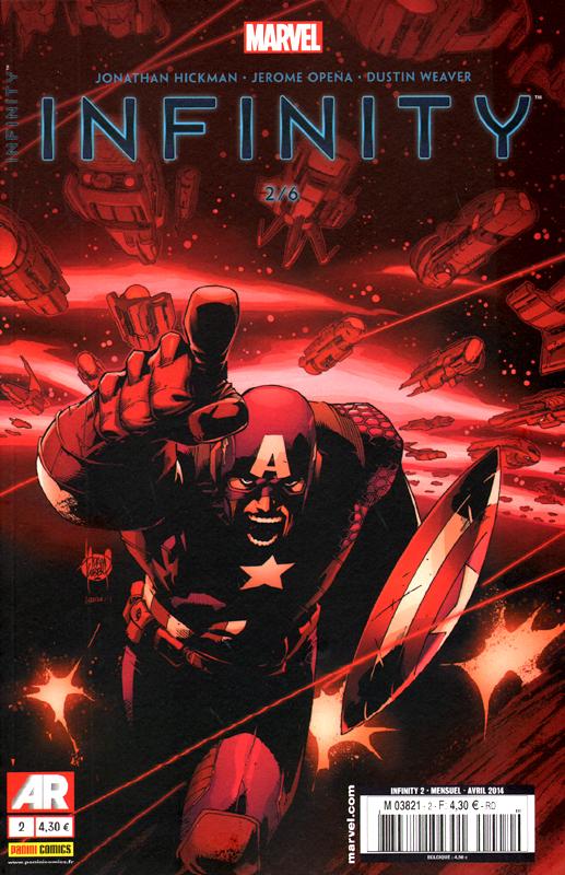 Infinity T2 : La chute (0), comics chez Panini Comics de Hickman, Latour, Kim, Opeña, Alessio, Weaver, Ponsor, Kubert