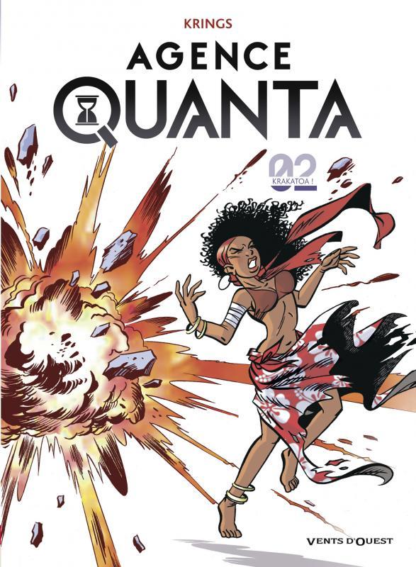 Agence Quanta T2 : Krakatoa ! (0), bd chez Vents d'Ouest de Krings, Swysen
