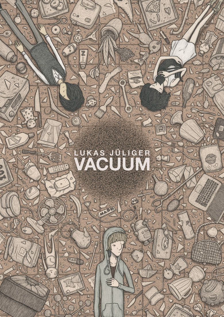 Vacuum, bd chez Rackham de Jüliger