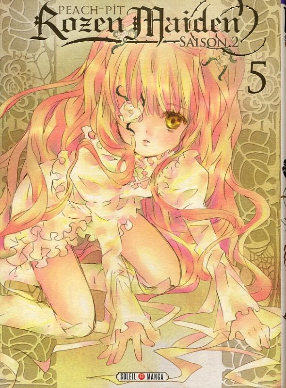 Rozen maiden – Saison 2, T5, manga chez Soleil de Peach-Pit
