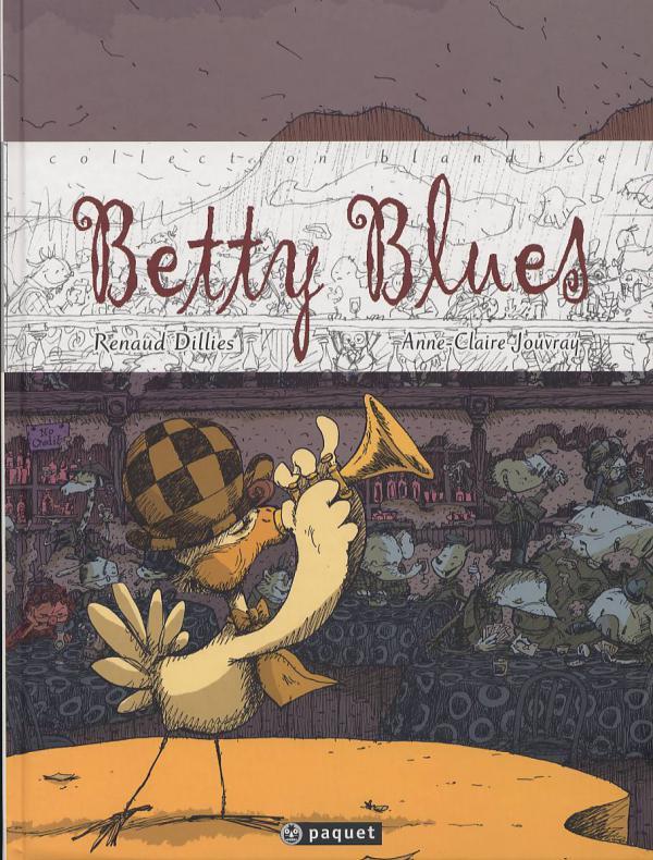 Betty blues, bd chez Paquet de Dillies, Jouvray