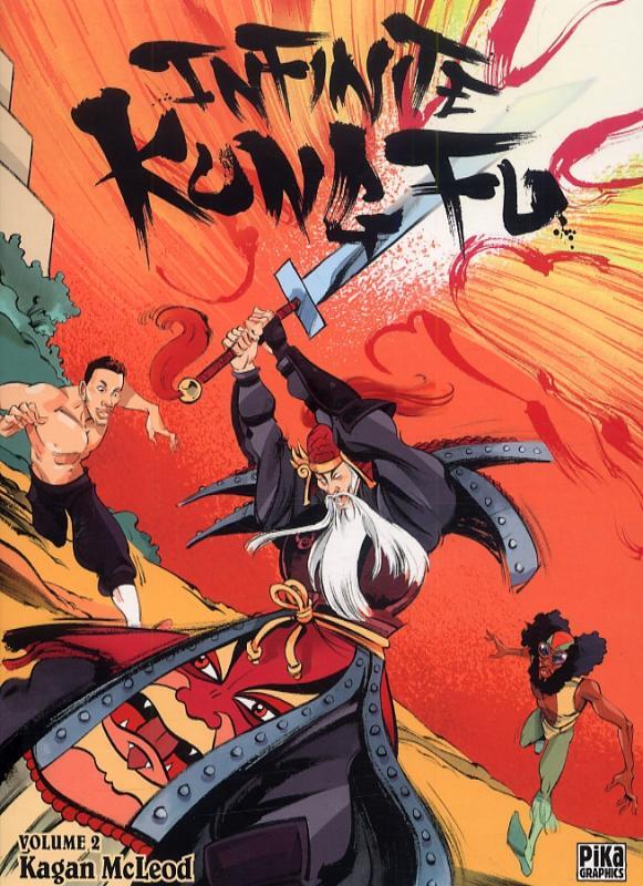 Infinite kung-fu T2, comics chez Pika de McLeod