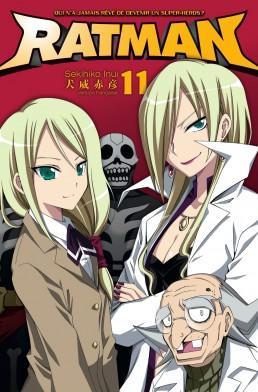 Ratman T11, manga chez Kana de Inui