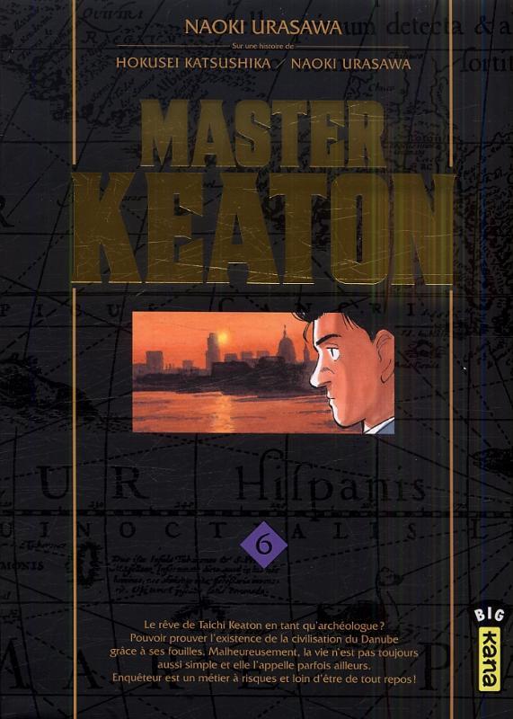 Master Keaton T6, manga chez Kana de Katsushika, Urasawa