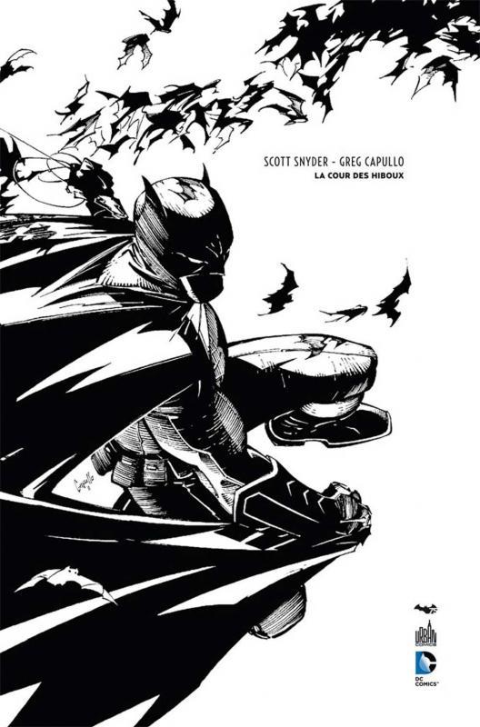 Batman : La cour des hiboux - Edition noir et blanc 75 ans (0), comics chez Urban Comics de Snyder, Tynion IV, Albuquerque, Glapion, Capullo