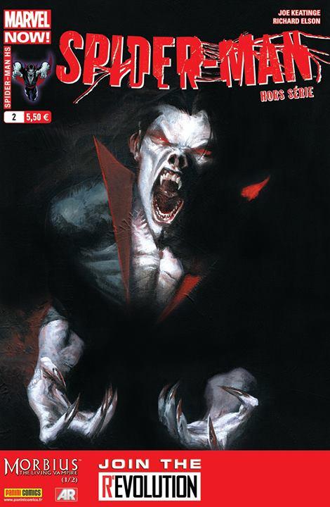Spider-Man - Hors série T2 : Morbius (1/2) (0), comics chez Panini Comics de Keatinge, Rodriguez, Elson, Fabela, Dell'otto