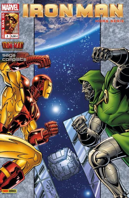 Iron Man (revue) – Hors série, T3 : Héritage fatal (0), comics chez Panini Comics de Michelinie, Layton, Lim, Sotomayor, Baumann