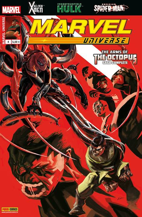 Marvel Universe – V 3, T4 : La clémence pour les avides - The arms of the Octopus (0), comics chez Panini Comics de Costa, Duggan, Yost, Wyatt, Bernales, Larroca, Dyalynas, Anka, Turcotte, Rosenberg, Bellaire, Ocampo, Lozano
