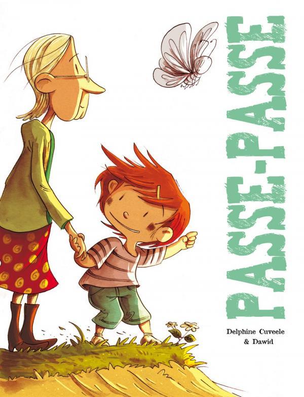 Passe-Passe, bd chez Editions de la Gouttière de Cuveele, Dawid